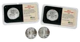 54 American Silver Eagles