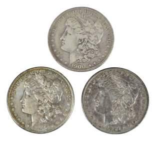 Roll of Silver Morgan Dollars