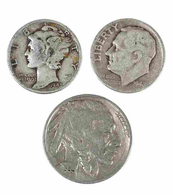 Silver Dimes and Buffalo Nickels