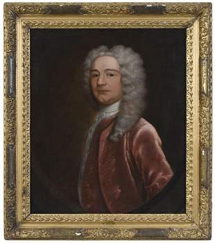 British or Irish School Portrait