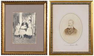 Two Images of Richard Bland Lee Family