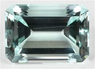 Large Loose Aquamarine Gemstone