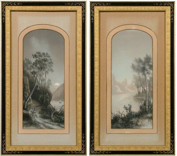 14: Pair pastels in fine frames: