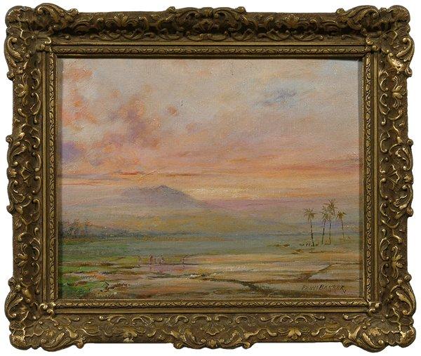 21: Painting by Frans Bakker,
