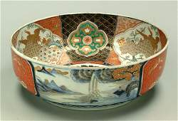 549 Large Imari ceramic bowl