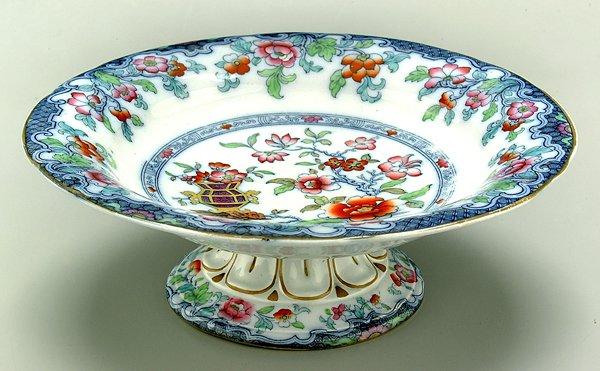 615: Minton ironstone center bowl,