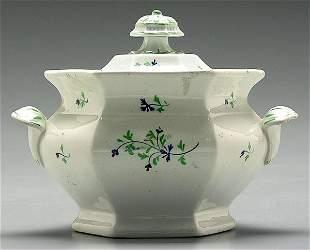 Lidded sugar bowl,