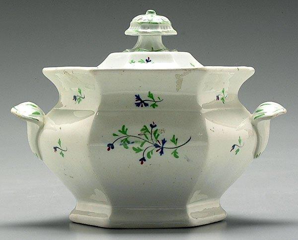 2: Lidded sugar bowl,