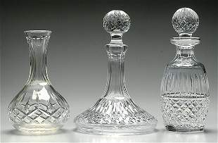 Two pieces Waterford crystal