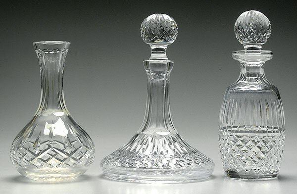 16: Two pieces Waterford crystal:
