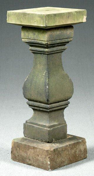 18: Limestone pedestal,