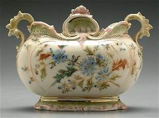 Austrian porcelain center bowl,