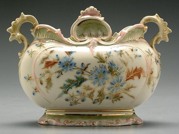 19: Austrian porcelain center bowl,