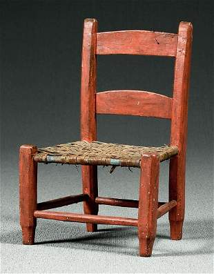 Country childs chair,
