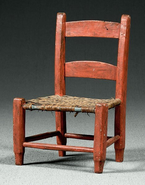 23: Country childs chair,