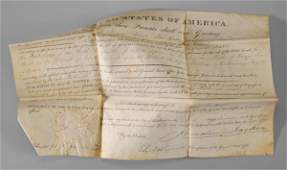492 1831 Andrew Jackson autograph
