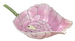 Chinese Famille Rose Porcelain Lotus Cup