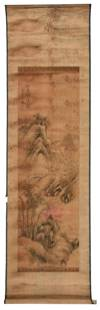 Chinese School Scroll Painting