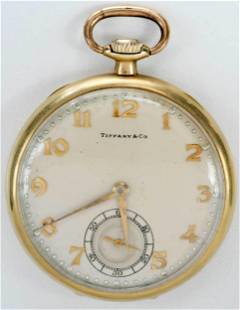Tiffany & Co./Hamilton 14kt. Pocket Watch