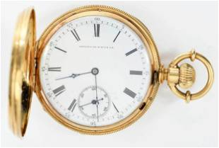 American Watch Co. 18kt. Pocket Watch