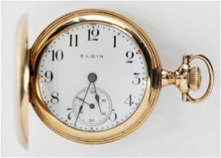 14kt. Elgin Pocket Watch