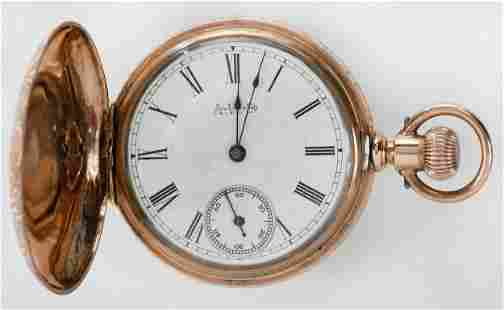 Waltham 14kt. Pocket Watch