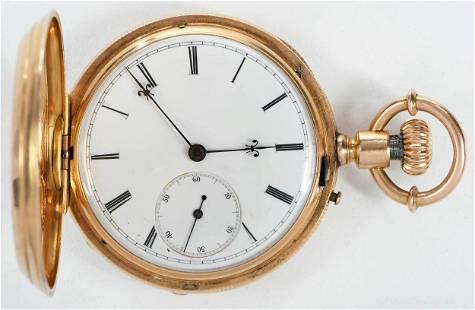 Arnold Billon 18kt. Pocket Watch