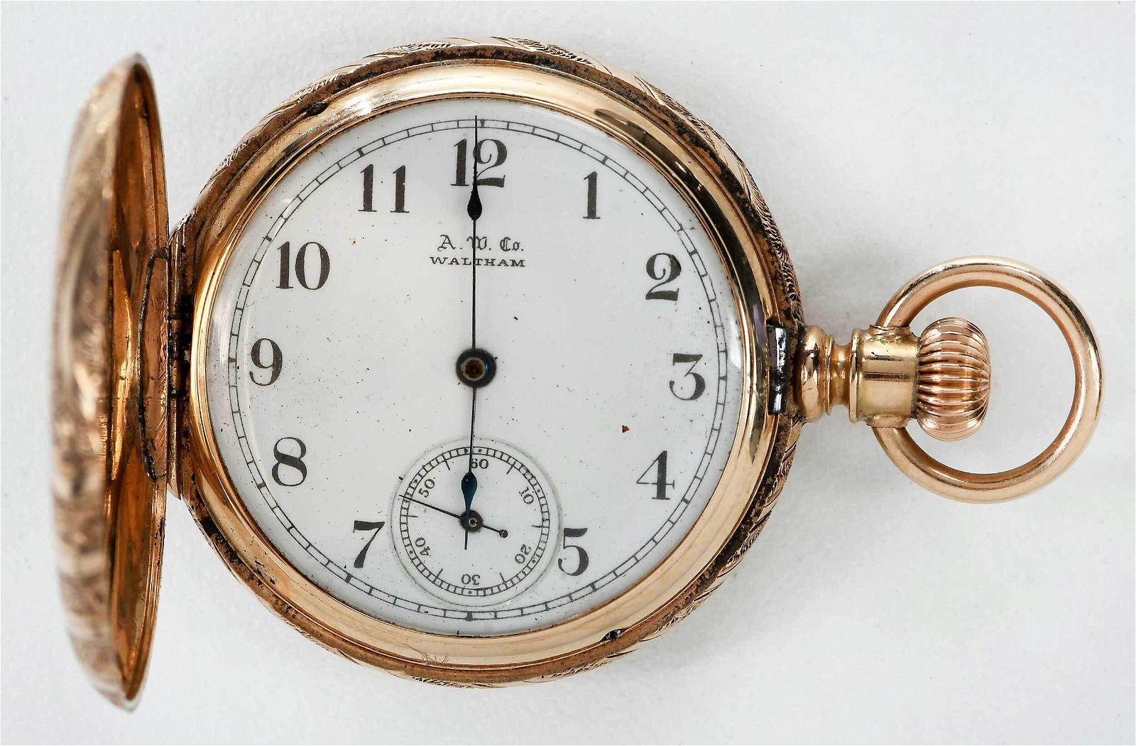 American Watch Co. 14kt. Pocket Watch