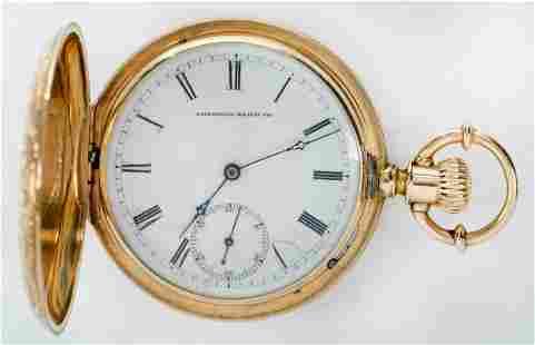 American Waltham Watch Co. 18kt. Pocket Watch