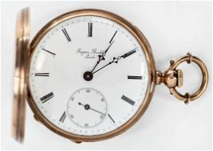 Jaques Roulet 18kt. Pocket Watch