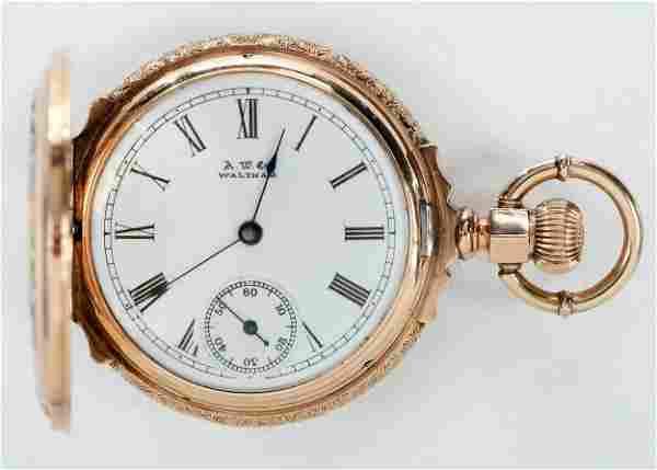 American Waltham Watch Co. 14kt. Pocket Watch