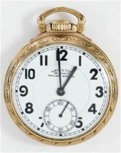 Hamilton Railway Special Pocket Watch