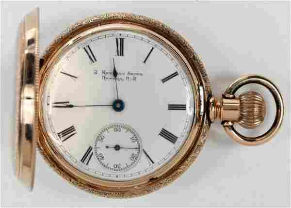 Waltham Watch Co. 12kt. Pocket Watch