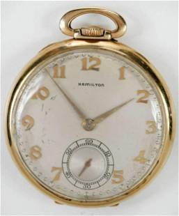 Hamilton 14kt. Pocket Watch