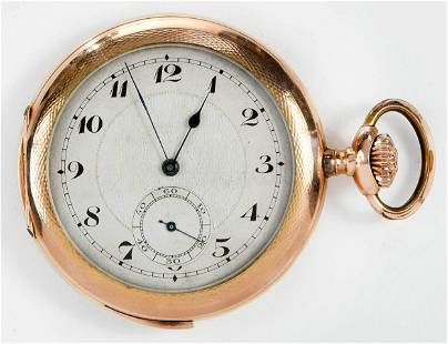 14kt. Quarter Hour Repeater Pocket Watch