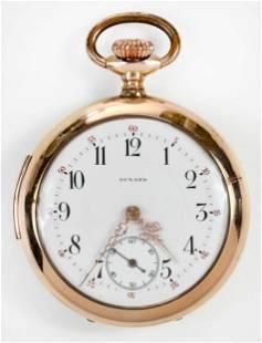 Dunand Quarter Hour Repeater Pocket Watch
