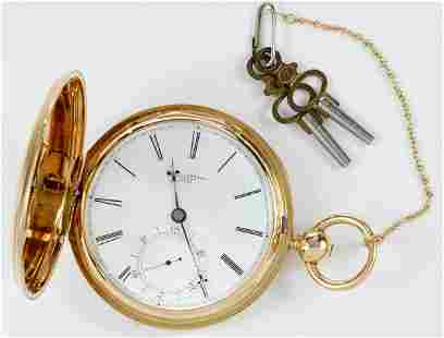 E.D. Johnson 18kt. Pocket Watch