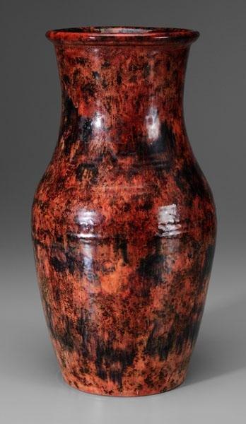 12: Large Moorcroft vase,