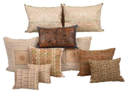 Ten Decorator Pillows