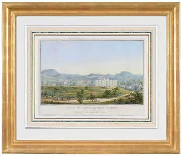 Print of Virginia Military Institute, Sachse