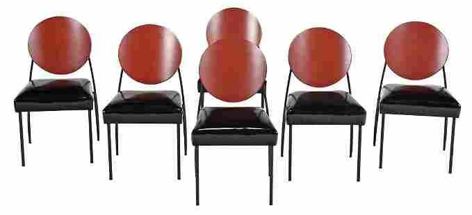 Set of Six Dakota Jackson Vik-Ter Dining Chairs