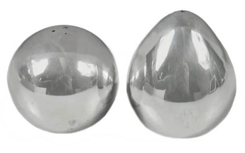 Arne Jacobsen Sterling Salt and Pepper Shakers