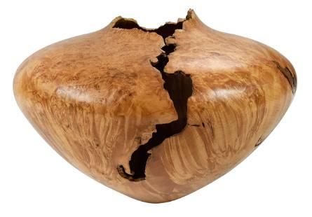 Michael Hosaluk Turned Wood Vessel