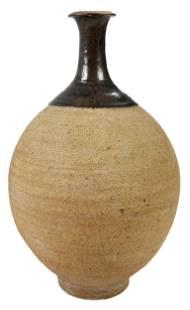 Paul Hudgins Stoneware Vase