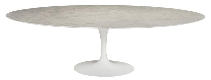 Eero Saarinen for Knoll Marble Top Tulip Table
