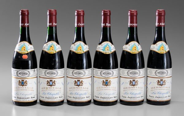 2: Six Bottles Red Rhone Wine