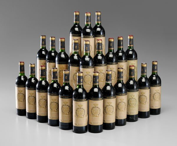 4: Twenty-Four Bottles Red Bordeaux Wine
