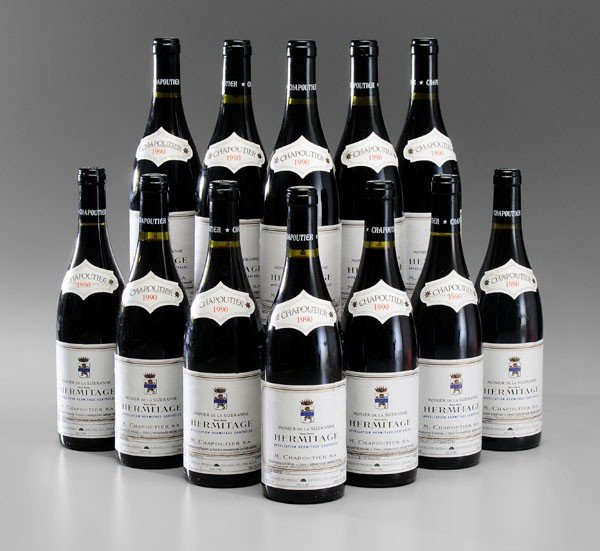 9: Twelve Bottles Red Rhone Wine
