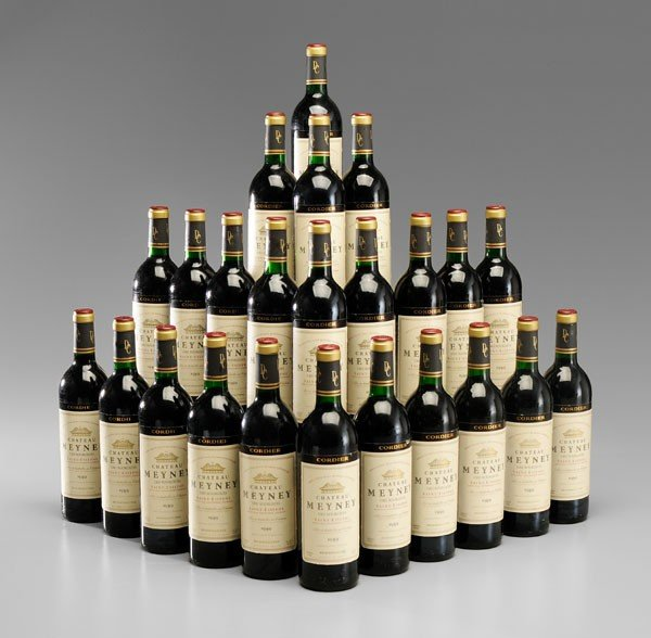 10: Twenty-Four Bottles Red Bordeaux Wine