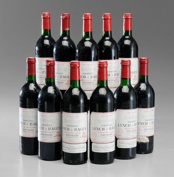 11: Eleven Bottles Red Bordeaux Wine